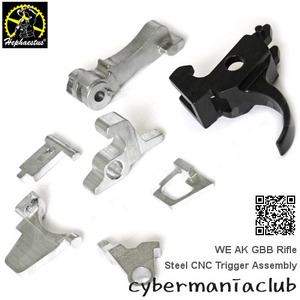 WE AK GBBR (Steel) CNC Trigger Assembly